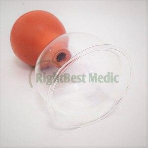 Image 2 - 2 tasses de haute qualité verre médical et caoutchouc ventouses sous vide ventouses Massage corporel ventouses soins de santé outils de beauté 5 tailles