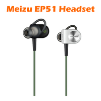 Original Meizu EP51 Sports Bluetooth Stereo Headset Nano Waterproof APT X Noise Cancelling With MIC Aluminium