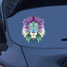 11.4*10CM Lion Head Fashion Car Sticker The King Of Beasts Styling Body Decals