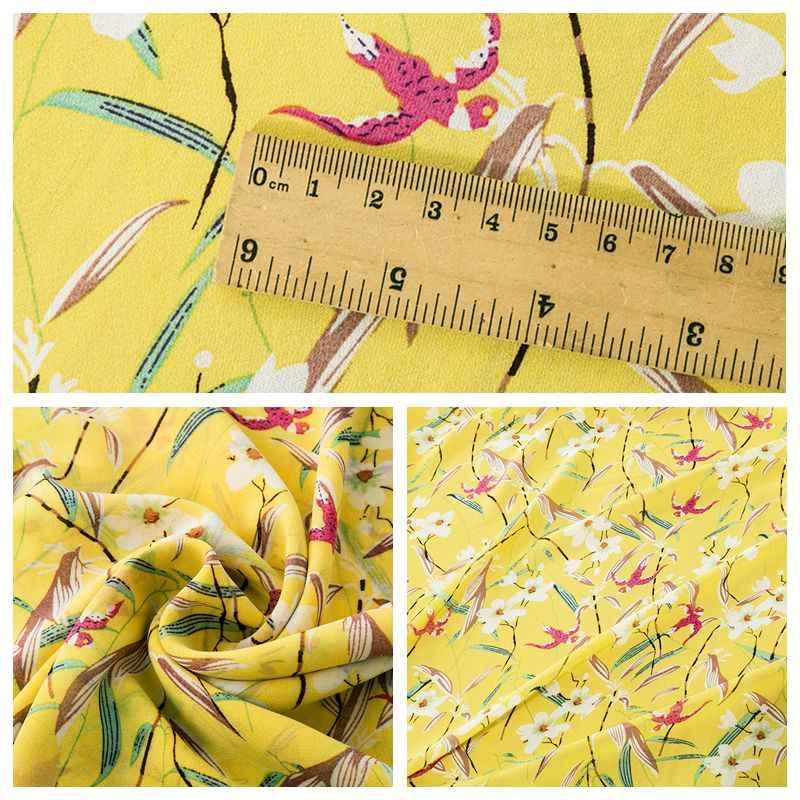 Günstige floral chiffon stoff für nähen kleid und kleider können sehen obwohl 25*150cm 100*150cm TJ8939-b