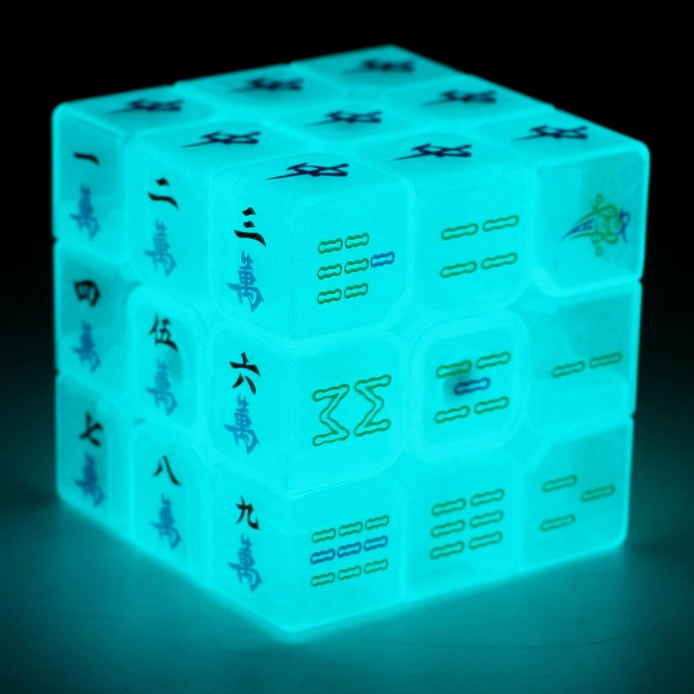 Zcube Aydınlık Mahjong 3x3x3 Sihirli Küp Hız Bulmaca Oyun - Oyunlar ve Bulmacalar - Fotoğraf 1