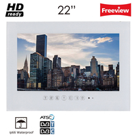 Souria 22 Inch Luxury Hotel Bathroom Television Home HD Kitchen LED TV Mounting A Flat Screen