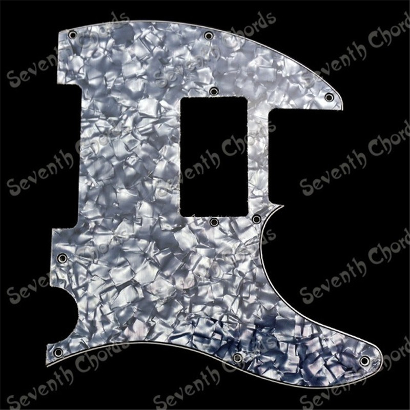 Cyan Pearl 3Ply Double coil Pickup Monting Hole Electric Guitar Pickguard Anti-Scratch Plate Pick guard guitar accessories