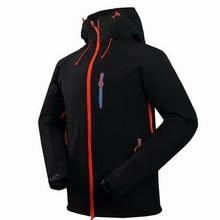 Autumn Waterproof Fleece Softshell Ski Jacket Men Winter Trekking Mountain Climbing Coat Outdoor Windproof Hiking Jackets