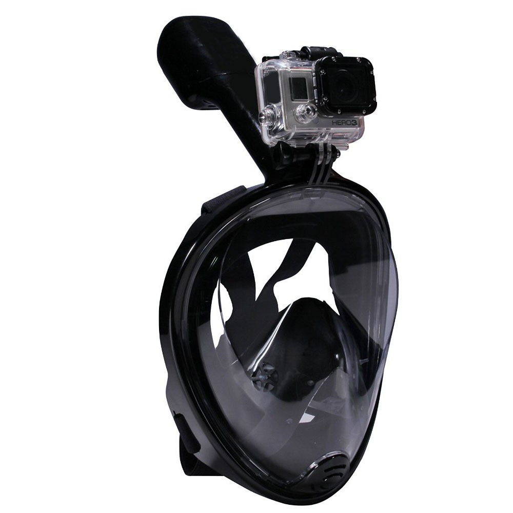 New Scuba Diving Mask Full Face Snorkeling Mask View Anti-fog Snorkel Diving Masks Underwater Equipment Snorkeling For GoPro