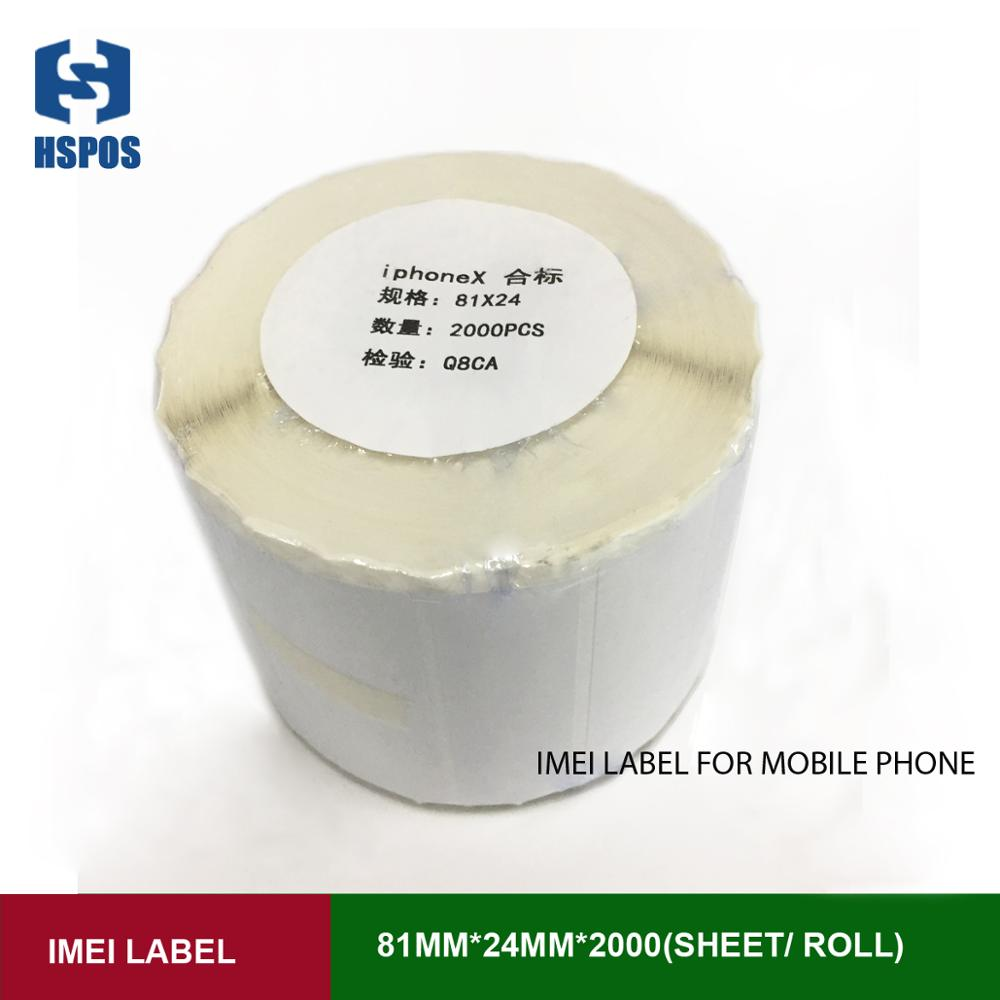 2019 best selling cheap cellphone imei Apple Label iPhoneX Box sticker