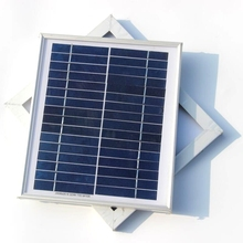 4.5W 16V Solar Cell Polycrystalline Solar Panel DIY Panel Solar Power For 12V Battery Charger Solar system  Free Shipping