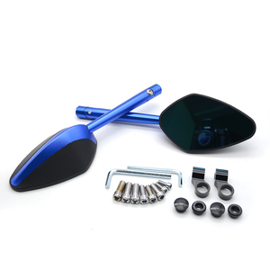 Image 2 - Universal CNC Aluminum Motorcycle Rearview Mirrors Rear View Side Mirror For Ducati hypermotard 821 sp hypermotard 939 sp