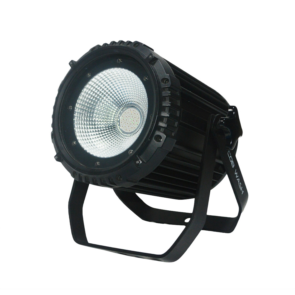 2018 NEW LED COB Par Light 100W High Power Aluminium 6in1 Dj Disco DMX Led Beam Wash Strobe Effect Par Lights