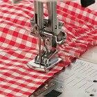 New Fold Hem Presser Foot Feet Kit For Sewing Machine Home Tool 2pcs