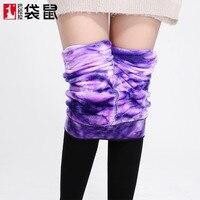 Pończochy Zimie Z Aksamitu Warstwy Grube Ciepłe Spodnie I Kobiet Noszących Legginsy Wysokiej Gęstości Nylon Zintegrowany Anty Pilling