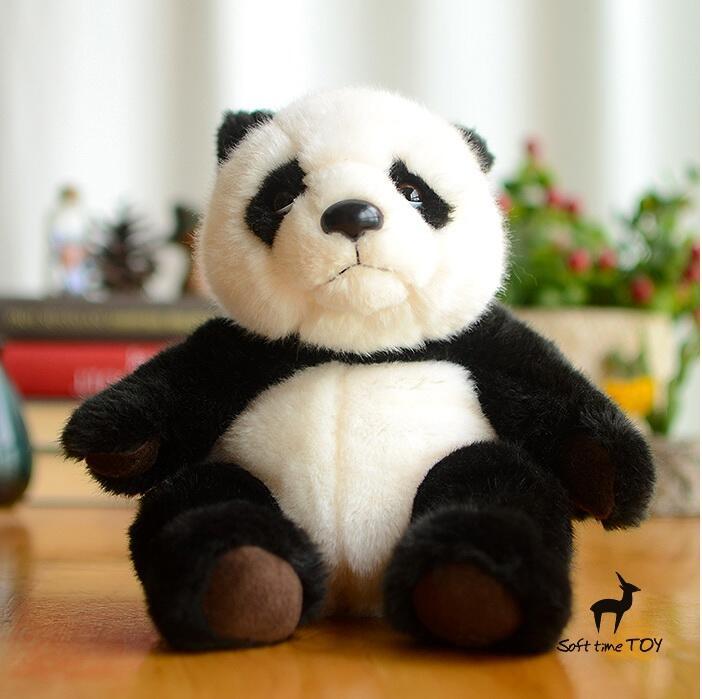 Plush Panda Toy  Simulation Panda Doll  Stuffed Toys Super Kawaii