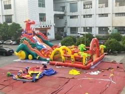 Fabryka sprzedaż bezpośrednia nadmuchiwane nadmuchiwane slajdów zamek/nadmuchiwane trampolina barierę/duża trampolina/