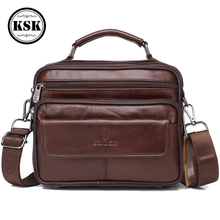 Men's Genuine Leather Bag Messenger Bag