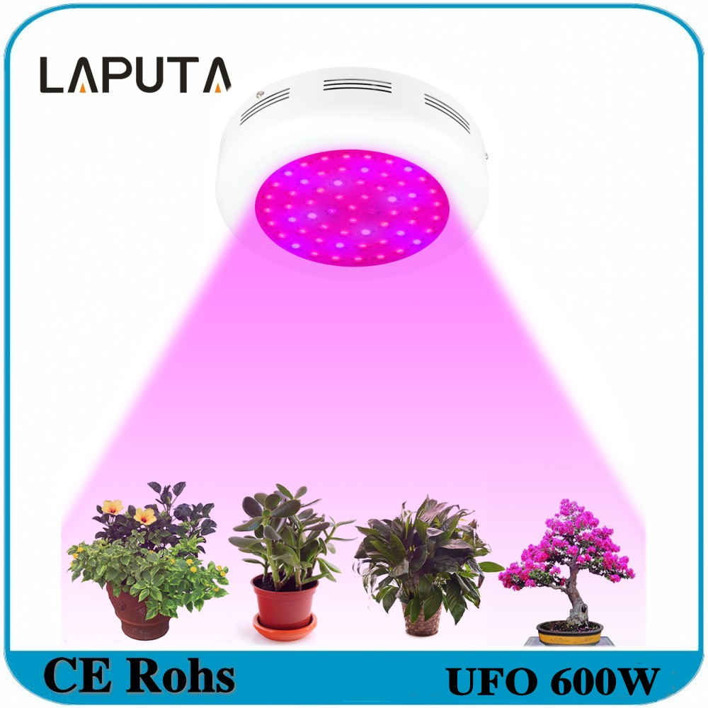 2pcs 600w ufo led grow lights ac85265v full spectrum hydroponic system for indoor
