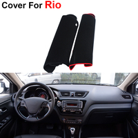 Car Styling Dashboard Car Covers Mats Car Styling Shade Cushion Carpet Photophobism Pad For KIA Rio
