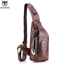 BULL CAPTAIN Genuine leather causal business shoulder  corssbody bag sac luxury brand handbags beach travel messenger bags