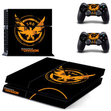 PS4 Skin Sticker For PS4 Playstation 4 Console + Controllers Vinyl Decal–Tom clancy's the division