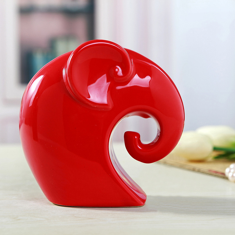 home decoration accessories elephant figurine feng shui products  - Home Decor - Photo 3