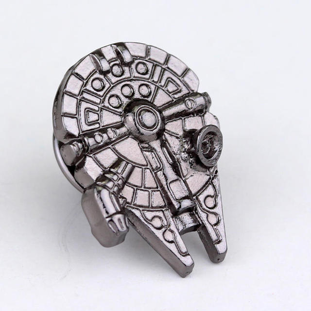 Star Wars Millennium Falcon Brooch