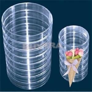Kicute 10Pcs Plastic Sterile P