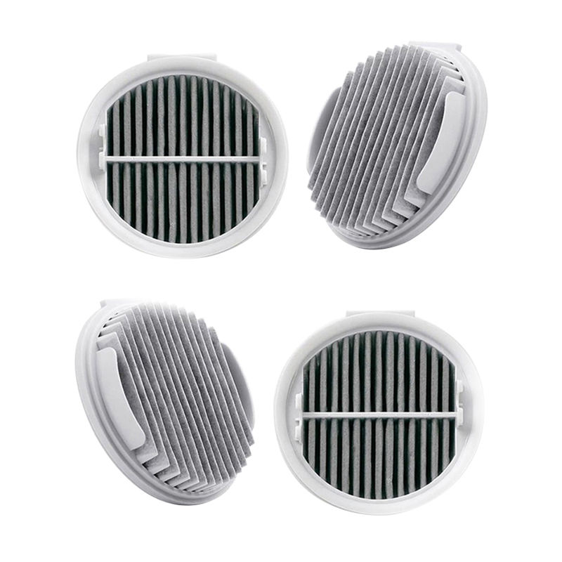 4Pcs Hepa Filter For Xiaomi Roidmi Wireless F8 Smart Handheld Vacuum Cleaner Replacement Efficient Hepa Filters Parts Xcqlx01R(China)