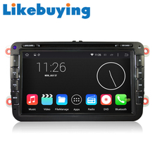 Likebuying  Android 4.4.4 Car 2 Din 16G 1024*600  QUAD CORE  DVD GPS Radio Stereo Navigator for  VW  MK6 MK5  CC SCIROCCO SHARAN