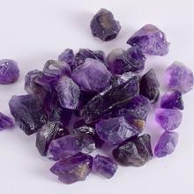 50g Bulk Raw Stone Dark Amethyst Irregular Natural Rock And Purple Mineral For Chakra Healing Specimen Collection Garden Decor цена в Москве и Питере