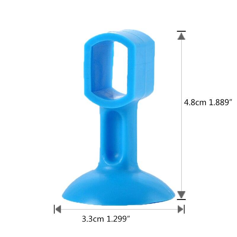 Купить с кэшбэком 3pcs Self Adhesive Silicone Door Handle Knob Crash Pad Wall Protectors Anti Collision Bumper Guard Door Stopper Stops Stick