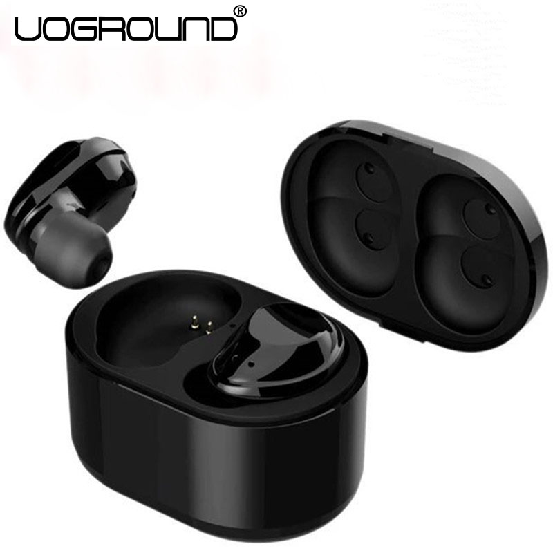 New X6 Touch Control Bluetooth Earphone TWS Wireless Earbuds Stereo With Microphone With Charger Box For Smartphone