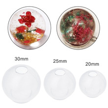 Round Ball Shape Silicone Molds For Resin Jewelry Making Whiskey Bath Bomb DIY Moulds Epoxy Mould Crafts ring sizer