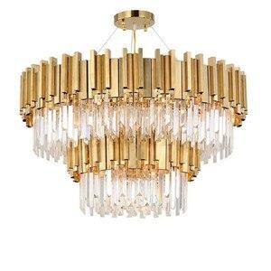 Living Room Luxury Gold Steel