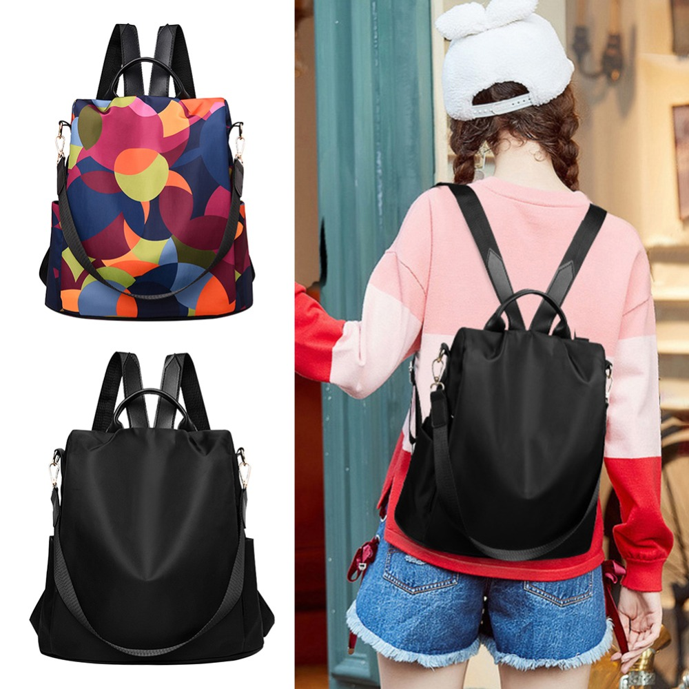 HTB1dNFmbA5E3KVjSZFCq6zuzXXas Casual Oxford Cloth Women Backpack Anti Theft Girls Schoolbags Teenager Travel Daypack Shoulder Bag Colorful Fashion Back Pack