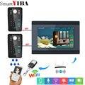 Yobangбезопасности видеодомофон 7 дюймов монитор Wifi беспроводной видео домофон с камерой система Пароль RFID карта