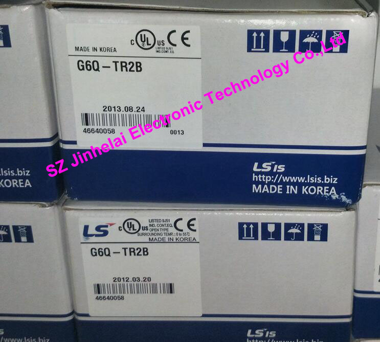 100% New and original  G6Q-TR2B  LS(LG)  PLC controller  Output module 100% new and original g6i d22a ls lg plc input module