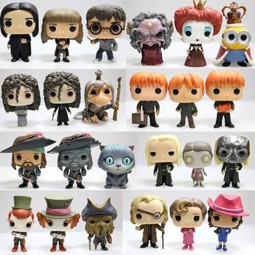 Funko POP Harry Potter - Snape, Rubeus, Luna, Dobby, Draco Malfoy, Cedric, Sirius, Neville, Hermione Loose Figure Toy No box iclebo pop