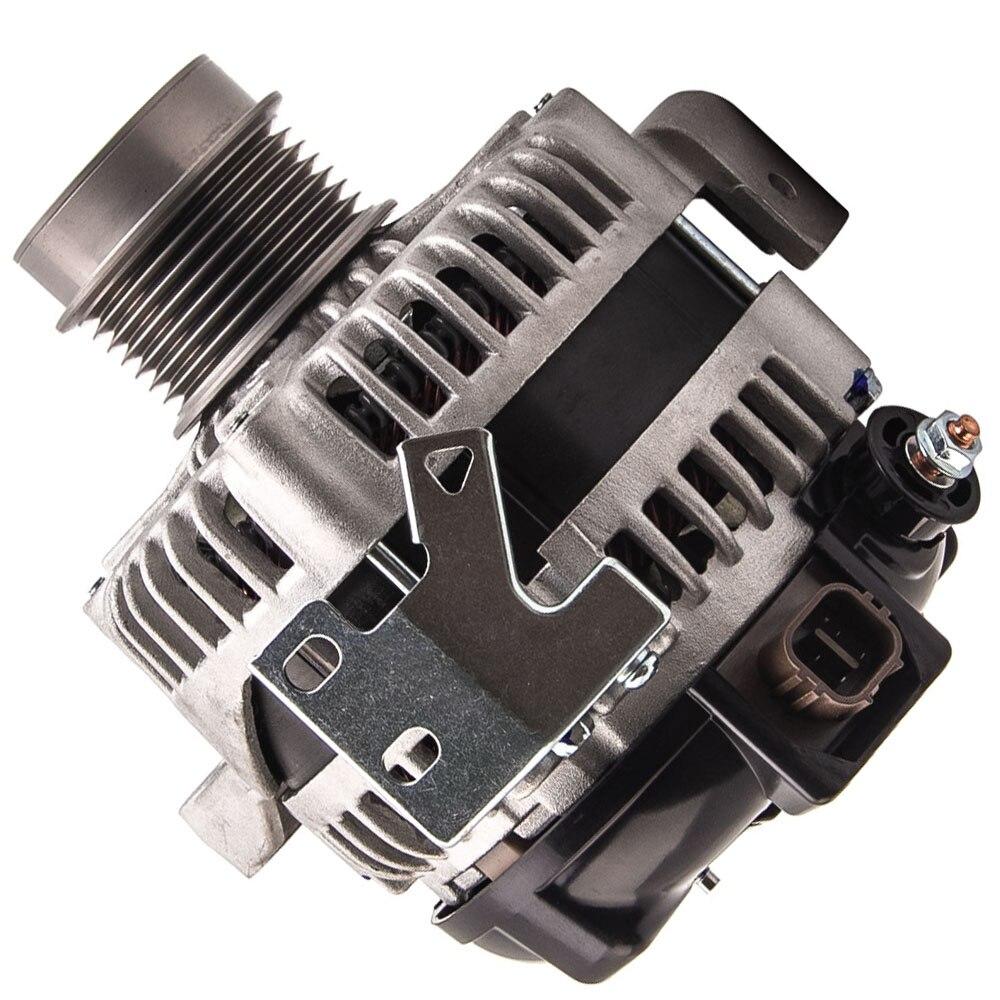 Автомобильный генератор переменного тока генераторы 130A для Toyota Tarago ACA33R ACA38R двигателя 2AZ FE 4cyl. 2.4L 06 14 104210 4980 бензин клатч шкив