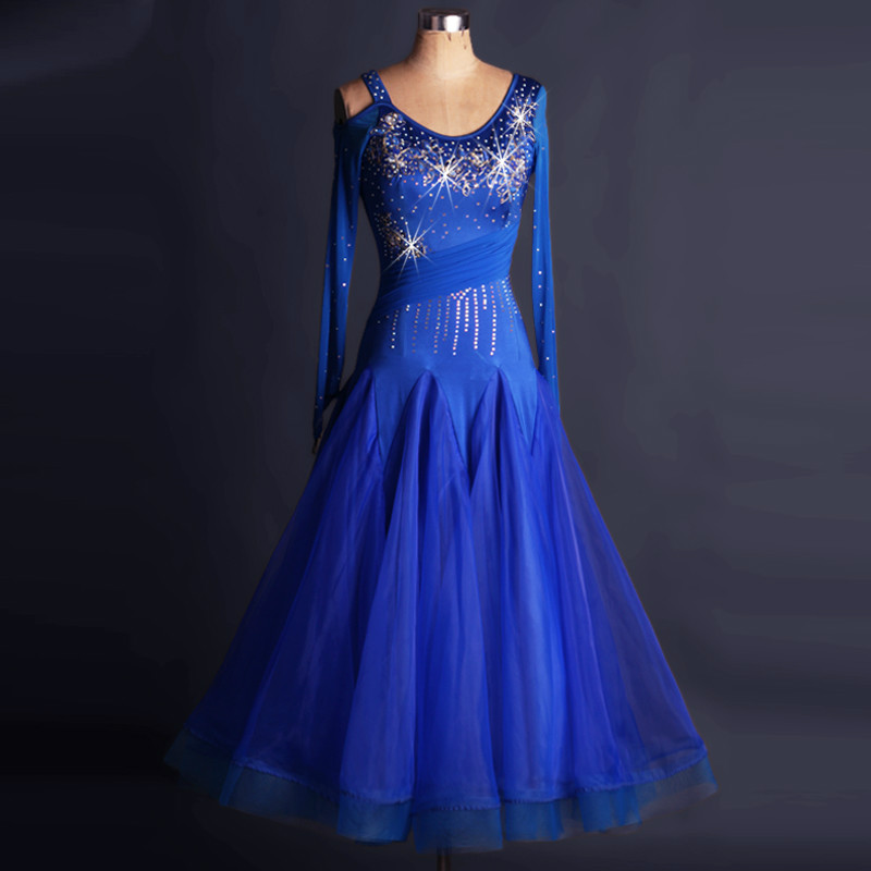 Apparel Modern Dance Dress Dress Gb Matchmaking Performance Clothing Fluffy Big Swing Performance Skirt