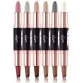 6 Colors Glitter Shimmer Natural Fashion Eye Shadow Make Up Light Eyeshadow Cosmetics Set Eye Makeup Palette 1PC