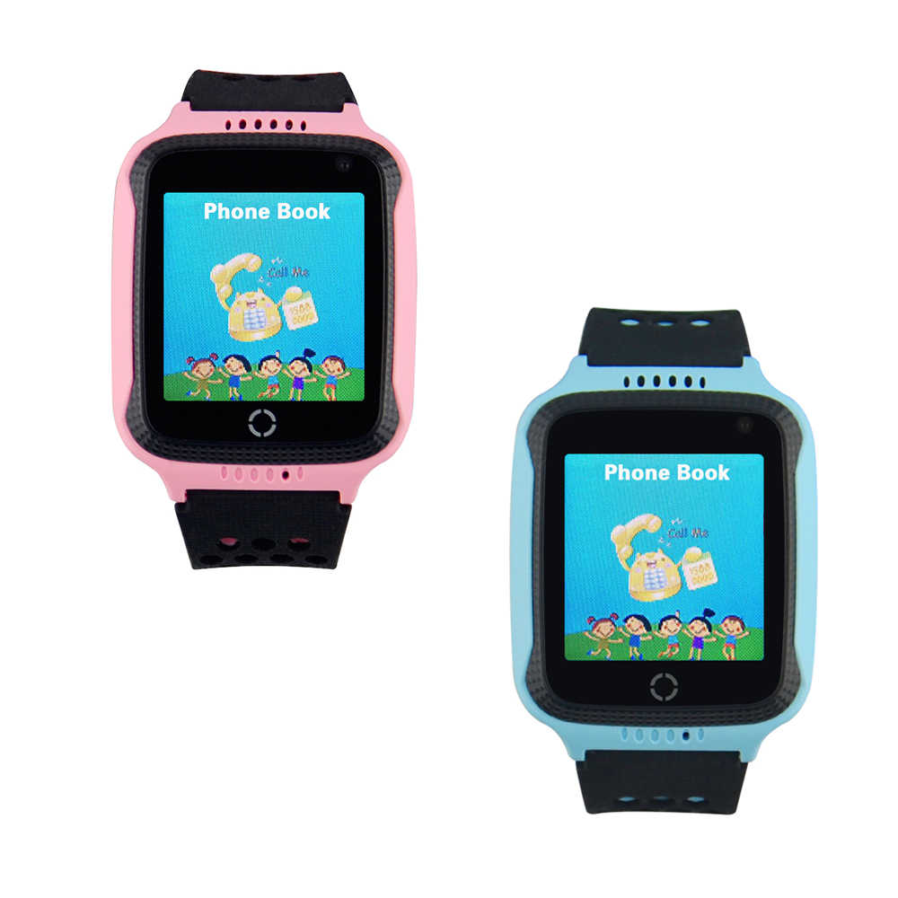 Children Kids GPS Watch Tracker Q528 with Camera Flashlight 1.44 Inch Screen Smart Watch Phone Two-way Talk SOS Alarm