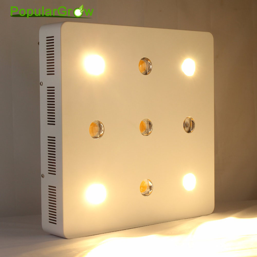 Commercial Greenhouse Led Grow Lights: Populargrow 1800W Full Spectrum Led Grow Light With Cree