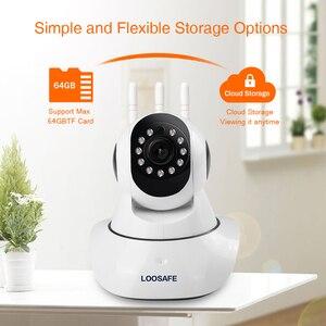 Image 3 - LOOSAFE 2MP Cloud HD WIFI กล้อง IP Night Vision กล้องรักษาความปลอดภัยหน้าแรกไร้สาย P2P IP Camara PTZ WiFi ในร่ม IR CAM ONVIF