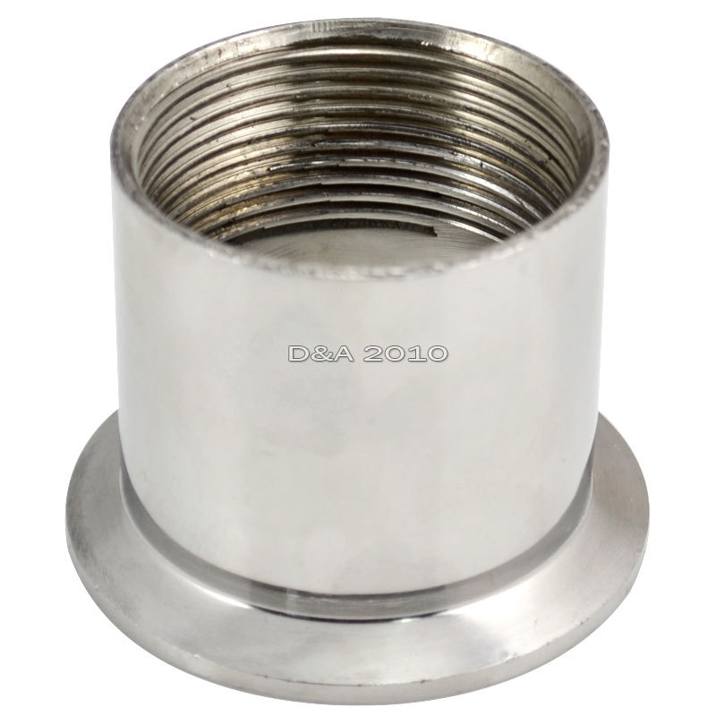 Quot dn sanitary female threaded ferrule pipe fittings