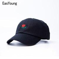 2016 Black White Boys Dad Hat Rose Drake Custom Sanpback Printing Baseball Cap For Men Women