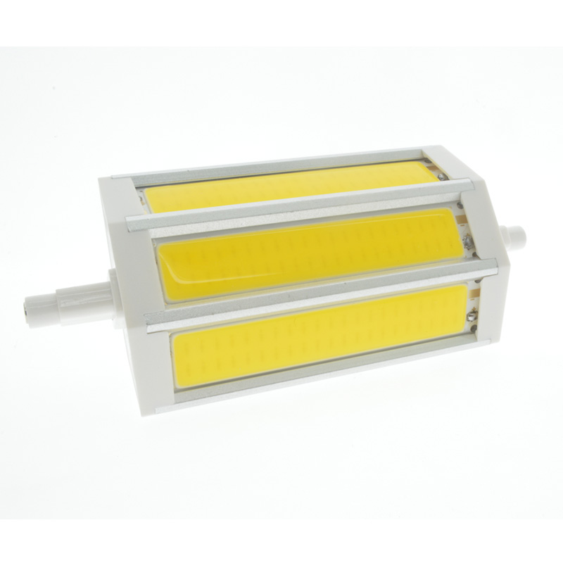 1X No Dimmable <font><b>R7S</b></font> COB <font><b>led</b></font> bulb <font><b>r7s</b></font> <font><b>led</b></font> lights 78mm 118mm 10W 20W J78 J118 lamp AC110V 127V 220V 265V replace halogen floodligh image