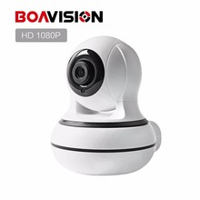 BOAVISION Smart WIFI Camera 1080P PTZ 350 Degree Night Vision IR 8M HD 2MP CCTV Wireless Camera WI-FI ONVIF P2P CAM360 VIEW