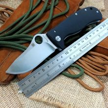 Popular Hot Item EDC Pocket Knife C157 Folding Knife LionSpy G10 Titanium Elmax Plain C157GTIP Tactical Survival Tool
