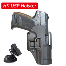 Quick Drop Tactical HK USP Compact Gun Belt Holster Right Hand Carry Case Army Military Shooting Airsoft Hunting Accessories