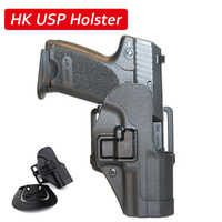 Quick Drop Tactical HK USP Compact Gun Belt Holster Right Hand Gun Carry Case Army Military Shooting Airsoft Hunting Accessories