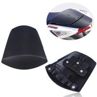 Motorcycles Carbon Fiber Black Rear Passenger Seat Cover Cowl For Suzuki GSXR600 GSXR750 2011 2016